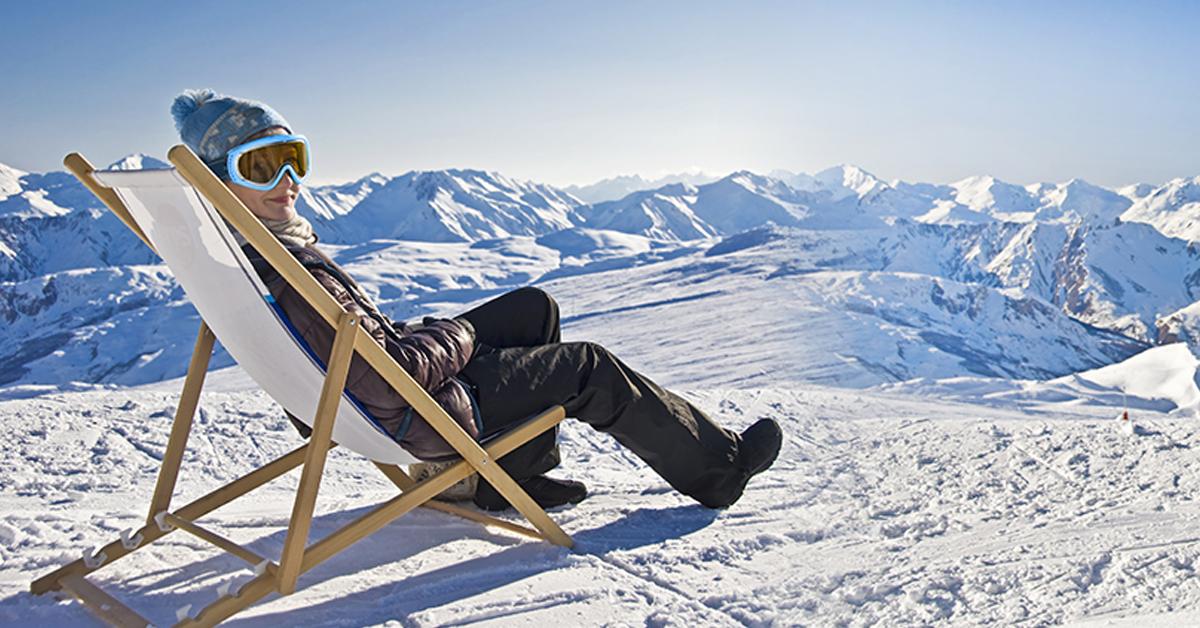Arsuri solare la ski